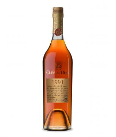Armagnac 1991 Clés des Ducs 70cl